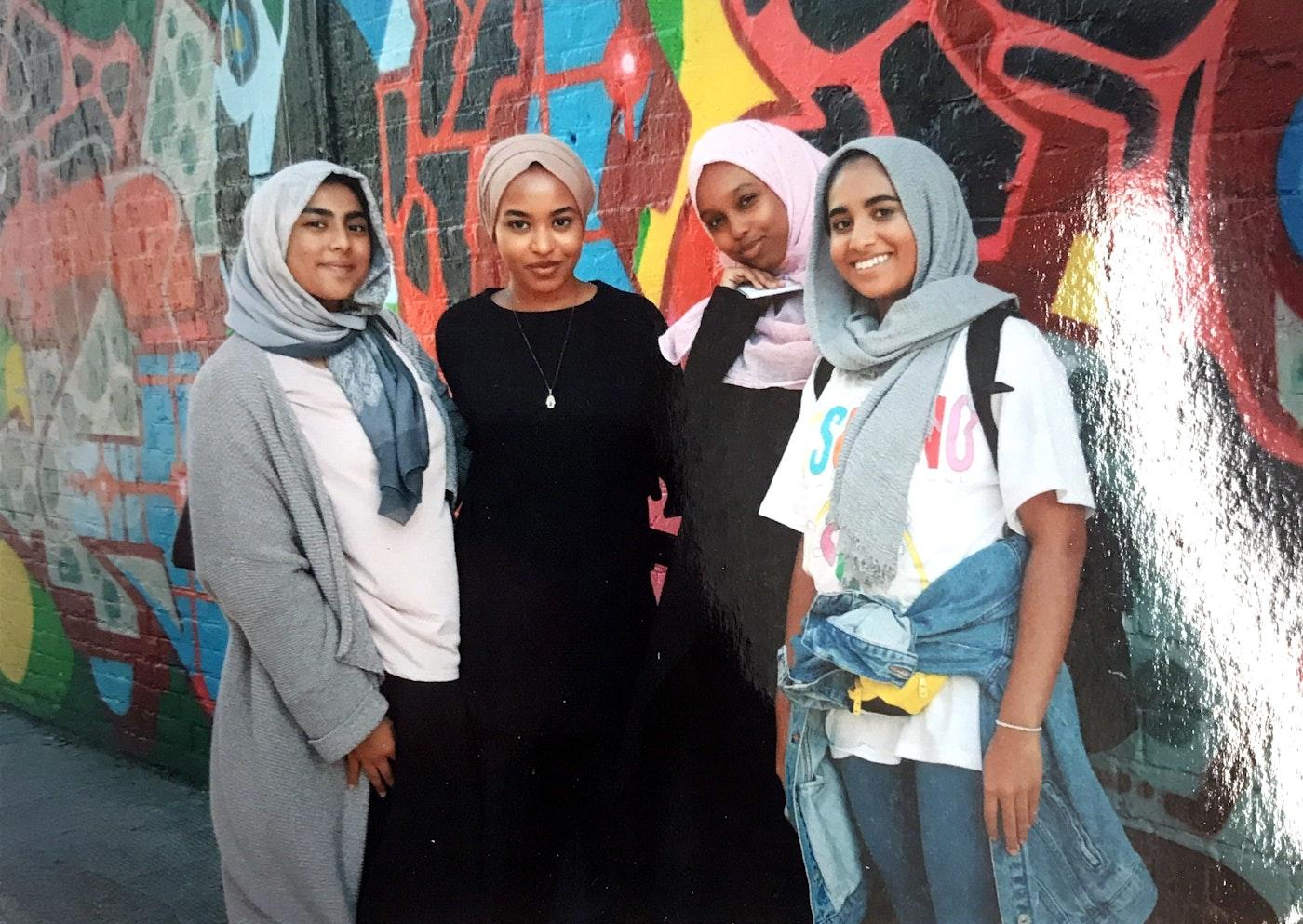 Photo of Amaliah's 2017 Work Experience cohort
