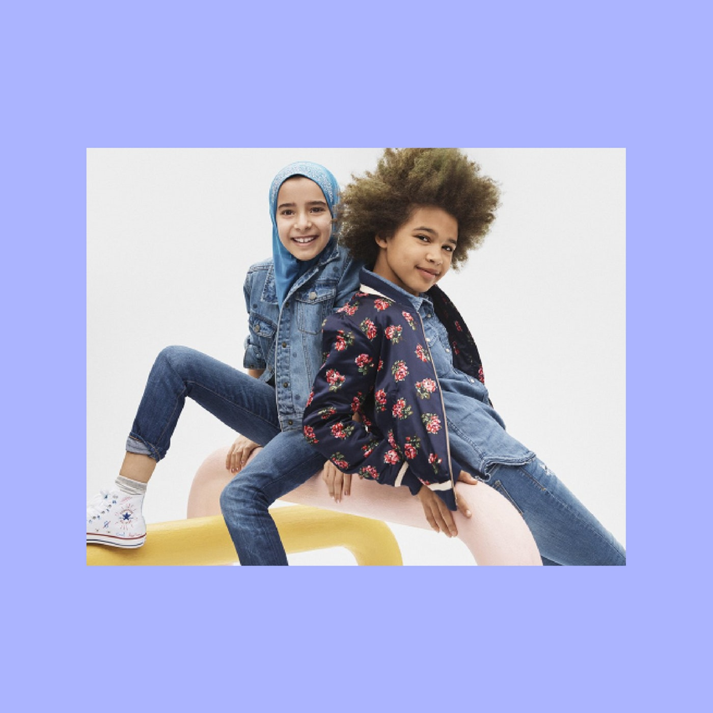 A Petition Has Started in France Calling the Gap Ad a Sexist